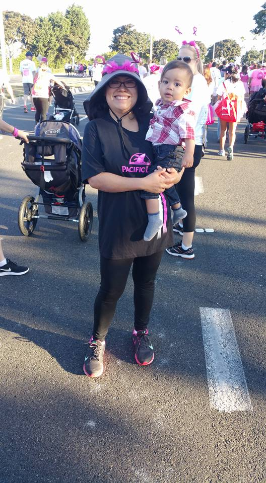 Susan G Komen Breast Foundation with Mom